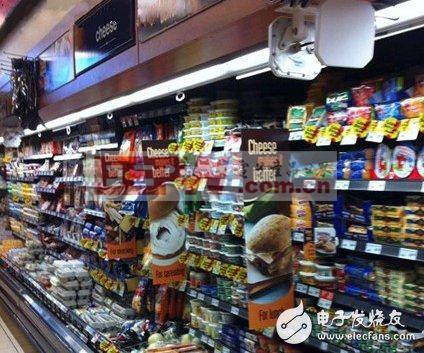 超高频RFID系统追踪超市人流