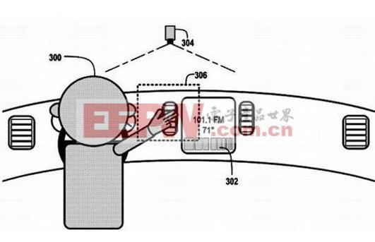 谷歌新专利曝光 可用手势控制汽车