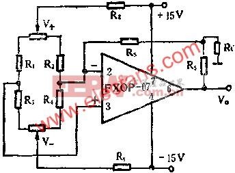 传感放大器电路图