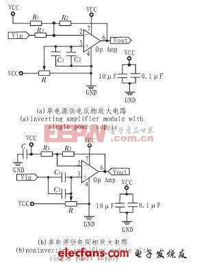 单电源供电的低噪声宽带放大器设计