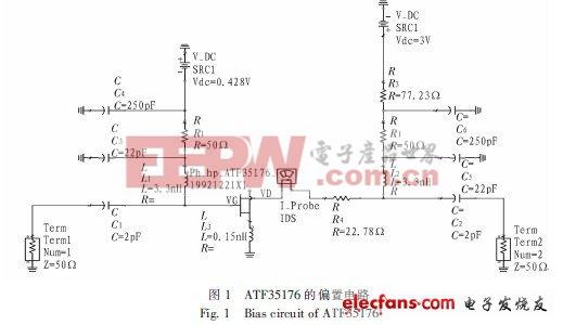 C波段低噪声放大器的仿真设计