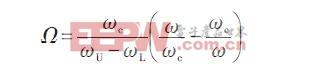 利用带通滤波器频率变换公式如下