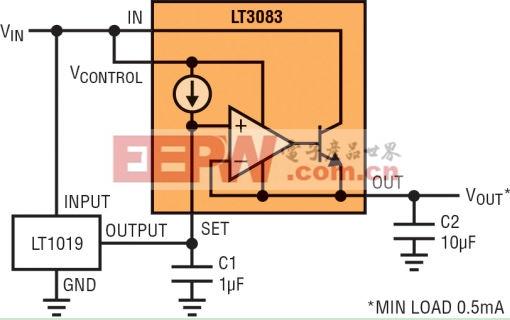 图4:大电流基准缓冲器