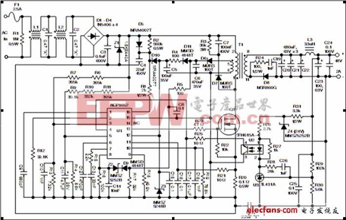 单段隔离型功率因数校正LED驱动器