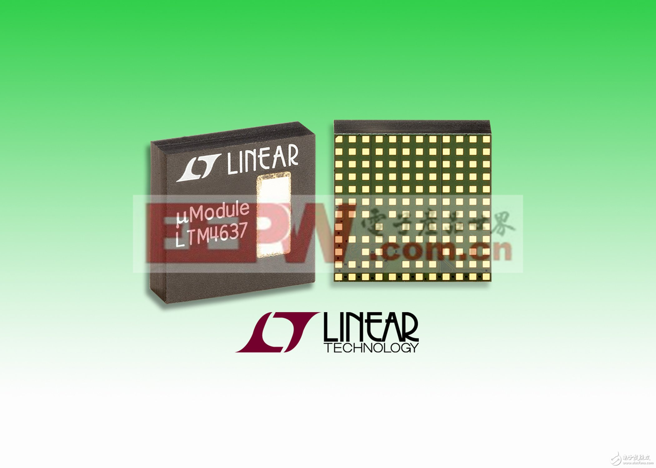 降压型µModule稳压器LTM4637