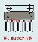 HA1392外形图