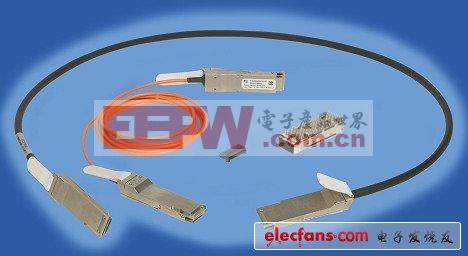 FCI推出全新无源铜缆和QSFP有源光缆组件