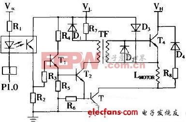 步进电机驱动控制电路原理图图片