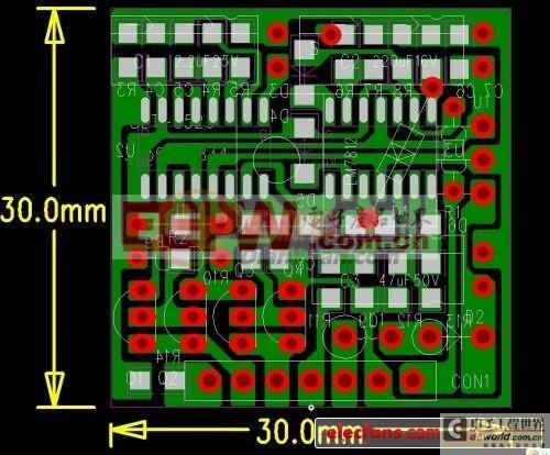 3525体积最小功能完美的驱动板
