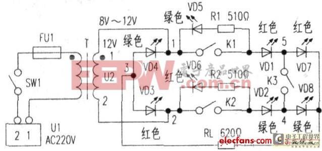 简单的桥式整流电路演示器制作