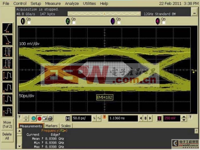 集成高速串行接口的EMI滤波及ESD保护问题