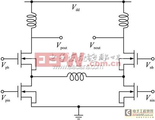图1共源共栅电感的应用