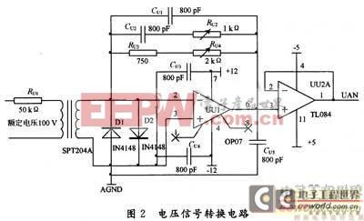 基于MAX274在电力参数测量中的设计