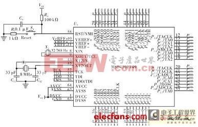 单片机和液晶电路图