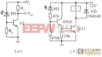 光敏二极管和光敏三极管简介及应用