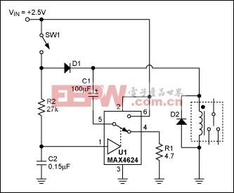 模拟开关降低继电器的功耗-Analog Switch Low