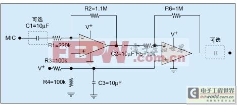 低噪声前置放大器电路的设计步骤图片