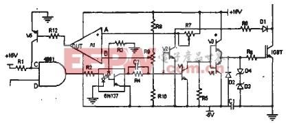 IGBT驱动和过流保护电路