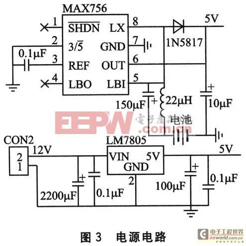 电源模块的硬件原理图