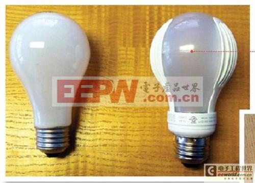 采用非隔离驱动器的LED灯泡可减小体积与成本