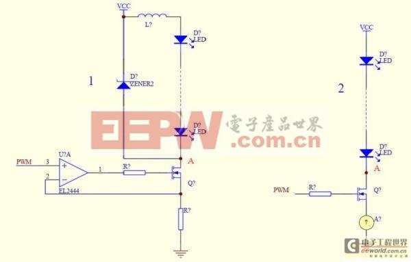 针对线性LED电源驱动IC设计及参考