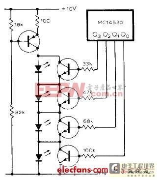 光电显示 设计应用 > led应用电路图精彩汇总(一)  一种 led低功耗