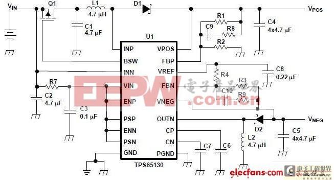 正电压和负电压