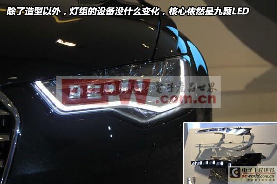 汽车照明LED智能灯光系统高清图片