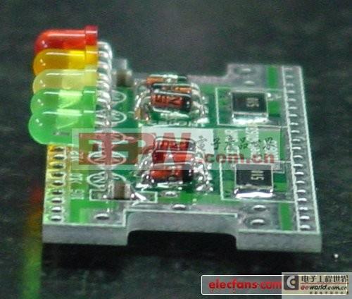 LED驻波指示器方案