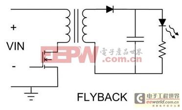 适合LED驱动及调光的各种切换式电源拓扑比较