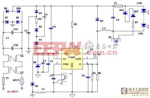 FT880典型应用方案