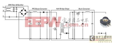考虑PFC相位控制调光 多级LED驱动器脱颖而出