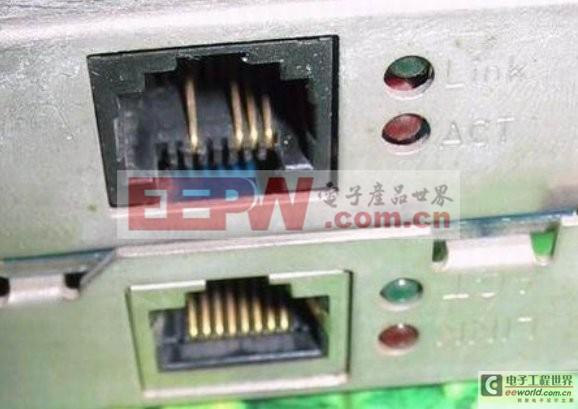 LED指示灯在网路卡中的作用