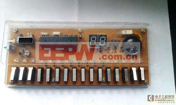 发烧友创意DIY:自制可调电源和16键电子琴步骤详解