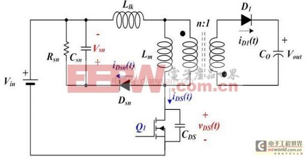 分析开关模式电源的谐振坐标方法 轻松设计RCD缓冲器
