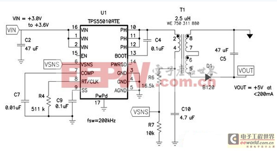 一款低成本设计的隔离式电源供应电路设计方案