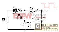 由MOS管、变压器构成的DC-AC逆变器工作原理