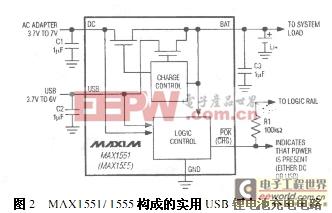 基于USB接口的锂离子电池充电电路设计与实现
