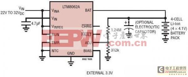行业人士分享基于锂离子电池充电器的电路设计