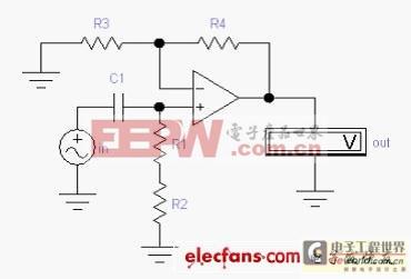 自举电路增大输入阻抗的方法