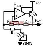 适用于宽电源电压幅度的高精度双极带隙基准电路