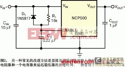 兼作电压监控电路的低压降线性稳压器