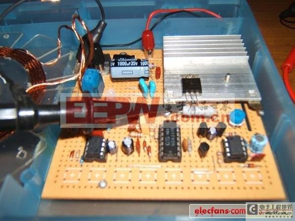 高手打造智能无线供电台灯