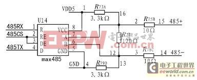 RS485接口电路原理图