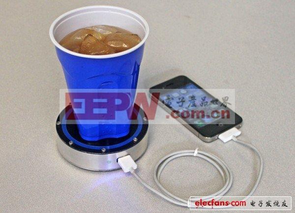 杯垫充电器
