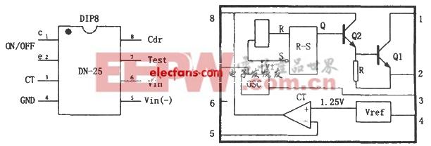 dn-25构成的开关电源电路图