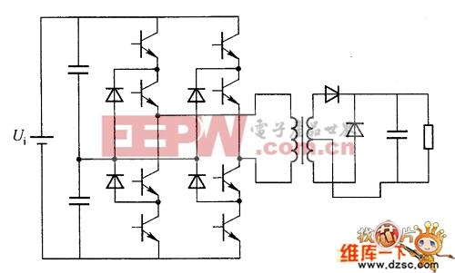 全桥式三电平转换器电路
