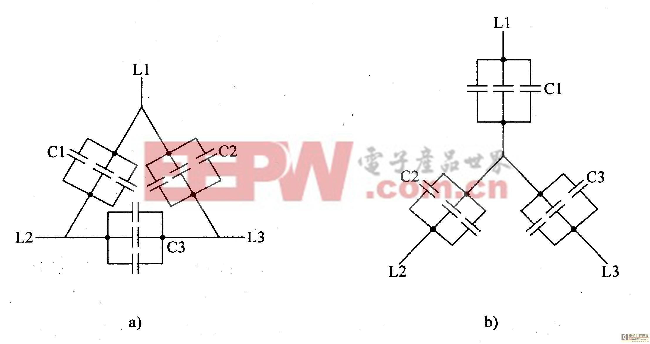 三相交流电动机改作发电机配电线路
