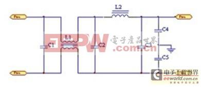 MCM功率电源模块EMC技术研究和设计