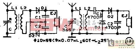 """30种""""无电源收音机""""电路集锦"""